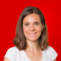 Karina Glaser, vhs Mitarbeiterin im Bereich Elternbildung und Angebote für Kinder